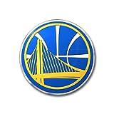warrior car emblem - NBA Golden State Warriors Color Auto Emblem, One Size, One Color