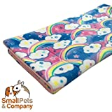 Guinea Pig Fleece Cage Liner for Midwest Habitat | Guinea Pig Bedding | Guinea Pig Fleece | Rainbows
