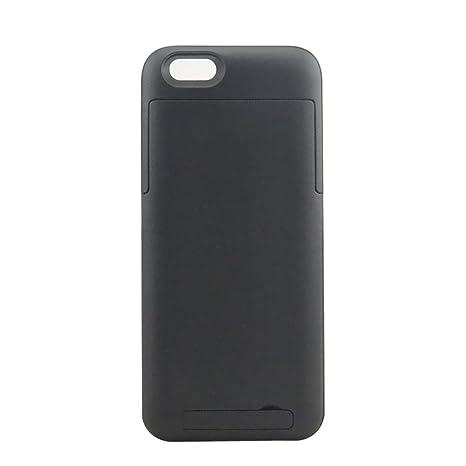 iPhone 6 Funda Cargador, Kool(TM) Negro Fuente de Poder para iPhone 6 3200mAh Funda Cargador de Batería Portátil Cubierta Externa Recargable de ...