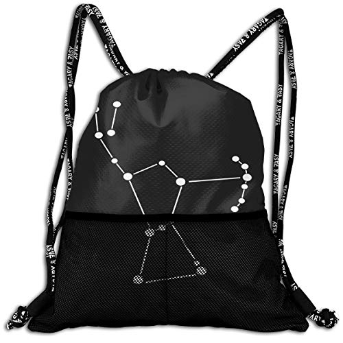 af9baee532 Men & Women Orion Star Constellation String Drawstring Bag Athletic Travel  Bag for Hiking Swimming Yoga