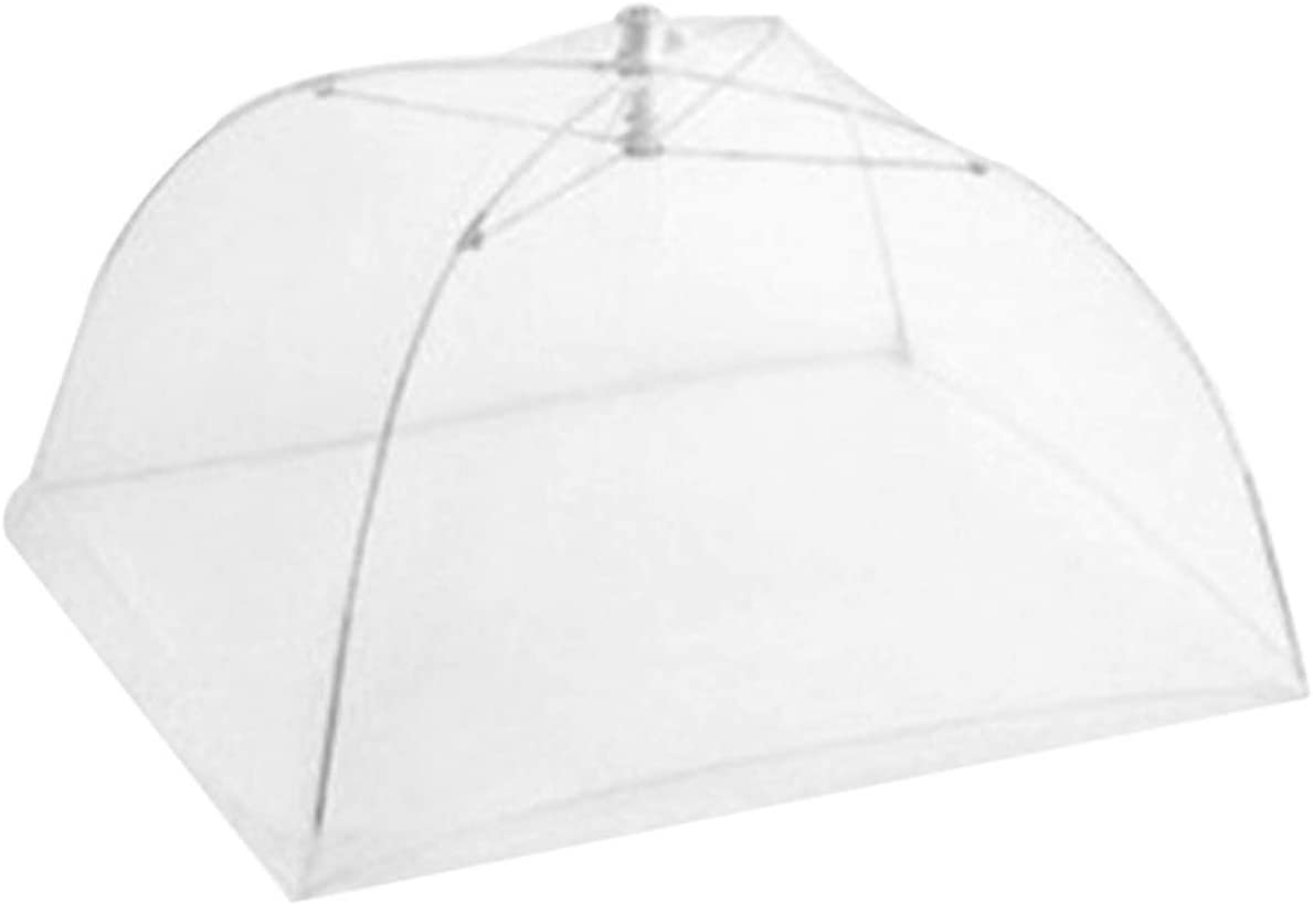 12-18inch Household Food Umbrella Cover Picnic Barbecue Party Tent For Kitchen Dinner Table (Color : 14 inch)