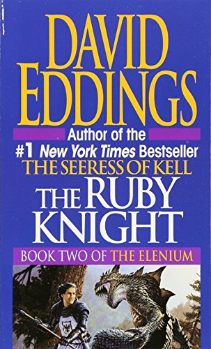 book cover of The Ruby Knight
