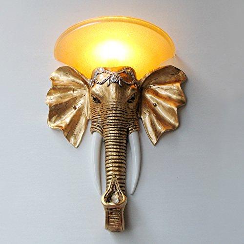 Kontinentales Südostasien Beleuchtung Ideen wohnzimmer Diele Treppe Hotels Elephant Wandleuchten, 440*590 (mm)