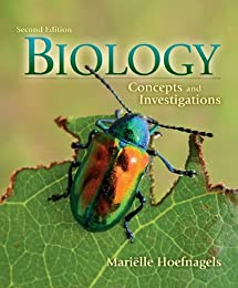 Biology: Concepts and Investigations [with Connect Access Code]