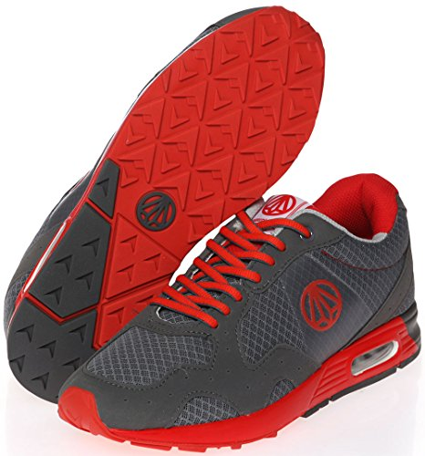 Fashion Air 1147 Training 1148 Gray Unisex Paperplanes Cushion Casual Sneakers Shoes Red Dark TIEawcq4c1