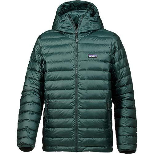 Patagonia Men's Down Sweater Hoody Micro Green