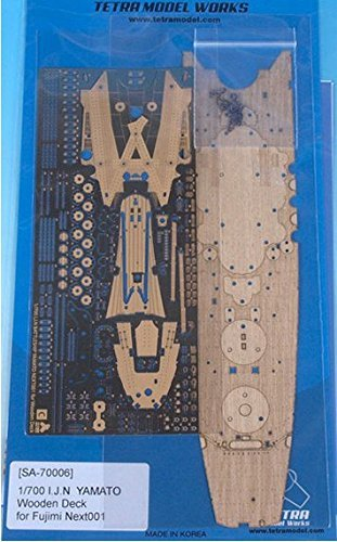 Tetramodelworks Wood deck Photo-etched parts