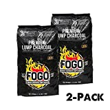 Best Lump Charcoals - FOGO 17.6-POUND PREMIUM HARDWOOD LUMP CHARCOAL BLACK BAG Review