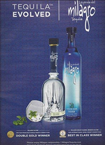 Advertisement Metal (MAGAZINE ADVERTISEMENT For Milagro Tequila: Metal Award Scene)