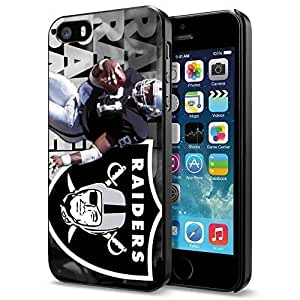 American Football NFL OAKLAND RAIDERS 81 Tim Brown, Cool iPhone 5 5s Case Cover