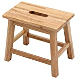TangMengYun Creative Solid Wood Stool, Modern Simple Change Shoes Stool Sofa Stool Bench Leisure Stool -35 20 29.5cm