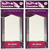 Walker Tape No Shine Bonding Double Sided, 4 cm x 0.8 cm, 120 Piece (2 Pack)