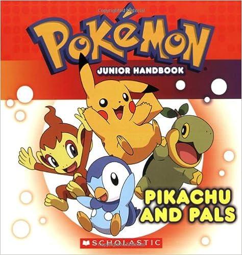 Book Pokemon: Pikachu and Pals Junior Handbook: Pikachu and Pals Jr. Handbook