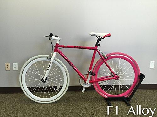 Caraci Fixed Gear Bike Men and Women's Alloy Bike Unisex Alloy Bicycles Bike Green