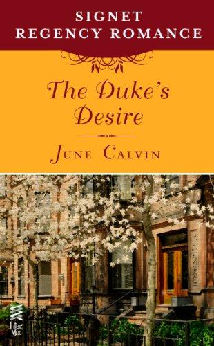 book cover of The Duke\'s Desire