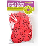 "Bloomin Seed Paper Shapes Packs - Lady Bug Shapes - 100 Shapes Per Pack - 1.8x2"" {Red}"