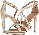 Calvin Klein Women's Vonnie Dress Sandal, Sand, 9.5 M US