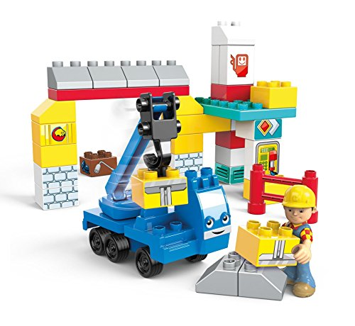 Mega Bloks Bob The Builder Garage Fix-Up Building Kit