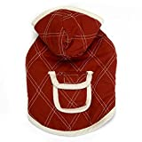 Zack & Zoey Polyester Quilted XX-Small Dog Jacket, Red Review
