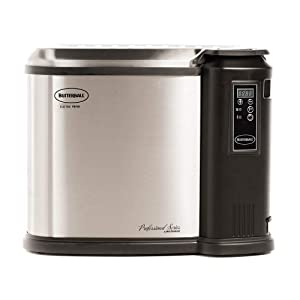 Butterball Masterbuilt XXL Digital Electric 22 Pound Turkey Fryer, Platinum