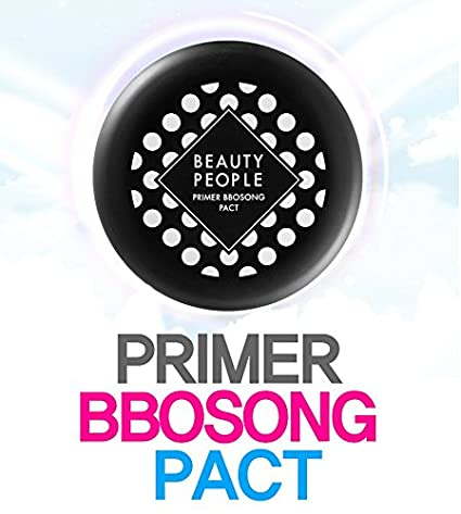 BEAUTY PEOPLE Primer Bbo Song Powder Pact (8G) Control de la grasa ...