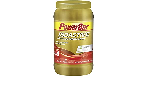 Powerbar Isoactive Suplemento, Sabor Red Fruit Punch - 1320 gr: Amazon.es: Salud y cuidado personal