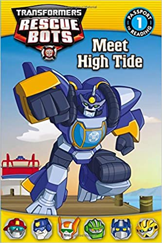 Reading Adventures Transformers Rescue Bots