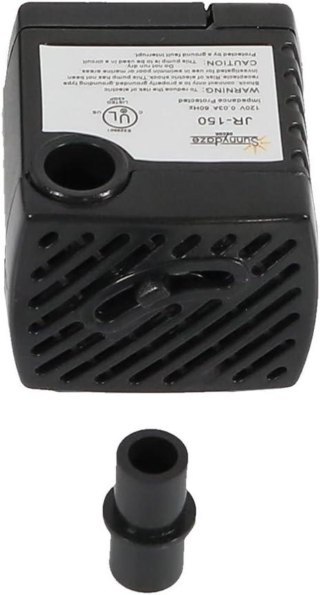 Sunnydaze 40 GPH Submersible Electric Pump for Hydroponics, Aquaponics, Small Fountains, and Aquariums, 120 Volts: Sunnydaze Decor: Home & Kitchen