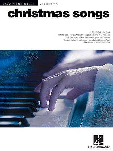 Christmas Songs: Jazz Piano Solos Series Volume 25
