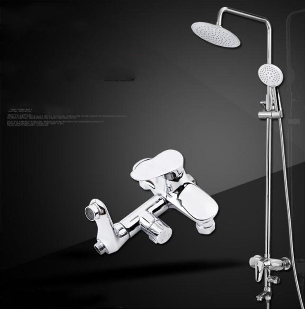 FFJTS Rain Shower Set Third Gear Can Be Adjusted Up And Down