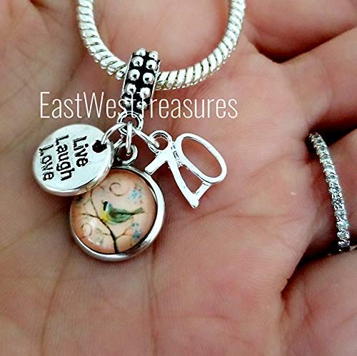 fdd76777e105a Amazon.com: Number 70 70th birthday charms-for Charm bracelet and ...