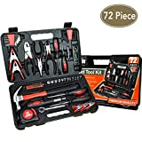 KIngOrigin Professional Multi-Tool Kit home repair tool kit tool kit 72Piece 80002M
