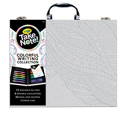 - Crayola Take Note, Colorful Writing Art Case, Bullet Journal Supplies, Gift