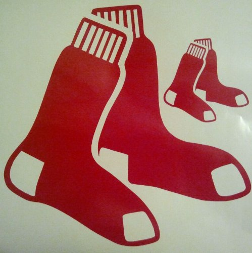 Boston Redsox Cornhole Decals - 2 Cornhole Decals Vinyl Decals by The Cornhole King