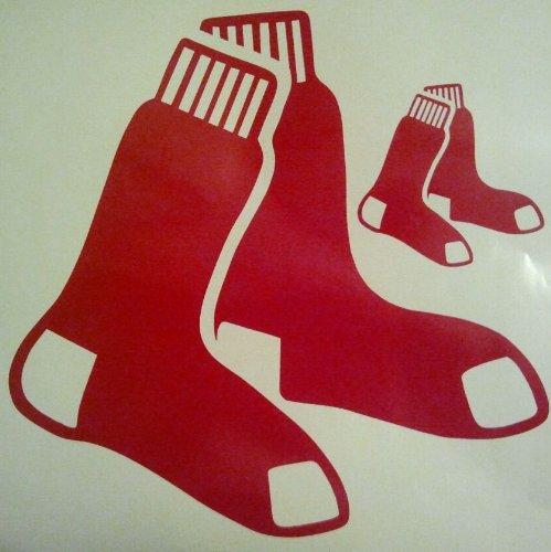 Boston Redsox Cornhole Decals - 2 Cornhole Decals Vinyl Decals