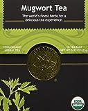 Mugwort Tea - Organic Herbs - 18 Bleach Free Tea Bags