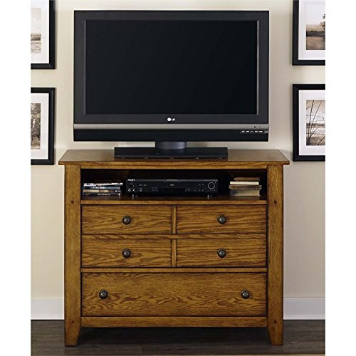 Liberty Furniture 175-BR45 Grandpa's Cabin Media Chest, 42