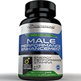 Oztosterone Male Performance Enhancement Testosterone Booster for Men - All Natural Vegan Made in the US Horny Goat Weed & Maca Root - 60 capsules - Increase Stamina, Energy, Muscle Growth & Fat Loss