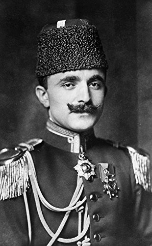 Enver Pasha (1881-1922) Nturkish Soldier And Leader Of The Young Turk Movement German Photo Postcard Published During World War I Poster Print by (24 x 36)