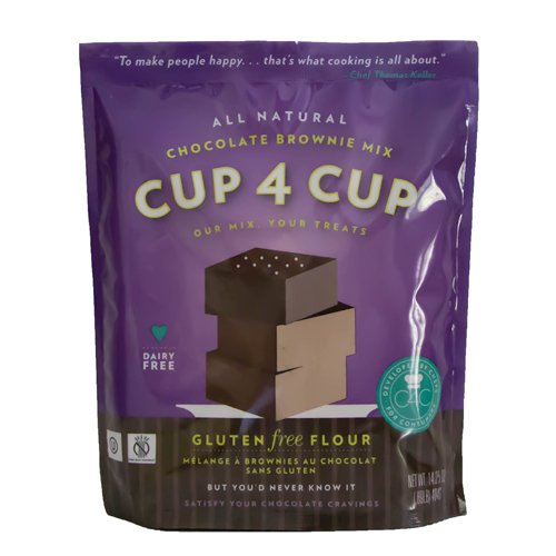 Cup 4 Cup - Gluten Free Chocolate Brownie Mix - 25 Lb Bag by Cup 4 Cup