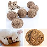 3PCS Woopower Funny 20G Pet Catnip Ball toys Funny Catch...