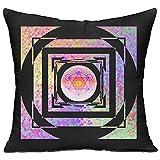 Metatron's Cube Standard Throw Pillow One Size