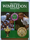 Front cover for the book The Official Wimbledon Annual 1992 by John Parsons