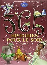 365 histoires pour le soir, tome 4 par Walt Disney