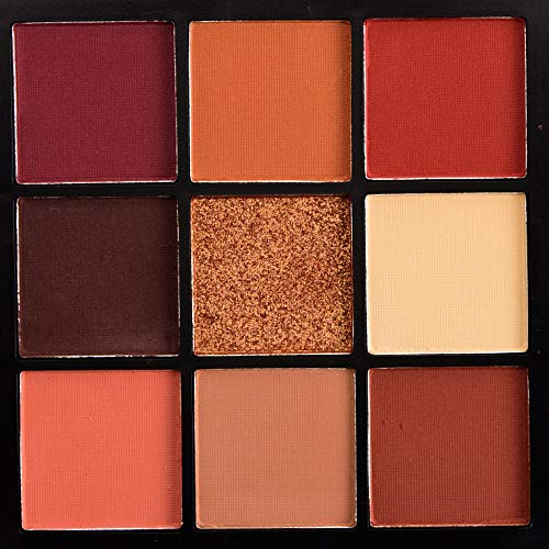 HUDA BEAUTY Obsessions Eyeshadow Palette # Warm Brown