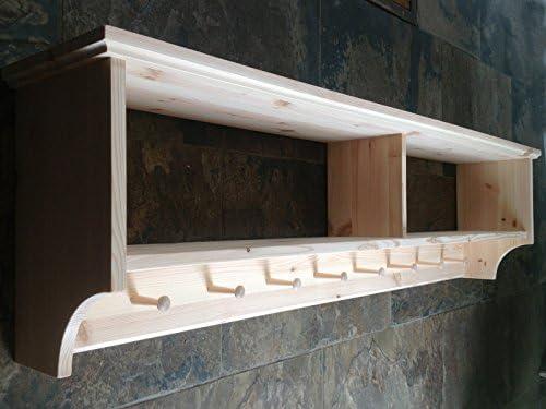 Original caja muebles ancho sombrero y perchero con estante ...