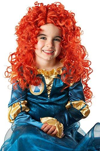 Merida Costume And Wig (Girls Disney Princess Merida Wig)