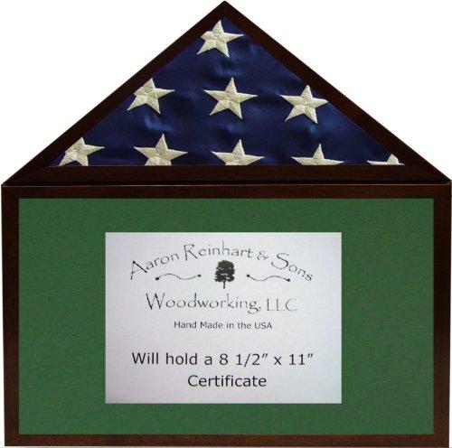 5x9 burial flag display case - 9