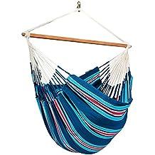 LA SIESTA Currambera Blueberry - Cotton Lounger Hammock Chair