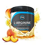 Fenix Nutrition L-Arginine Complete, Peach Lemonade - 5000mg L Arginine Capsules reduces the risk of heart disease, Nitric Oxide Booster, Natural Supplement, Increases Energy and Endurance